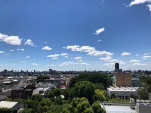 「空に雲」