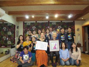 熊本で俳句の天賞のお祝いをしてもらいました